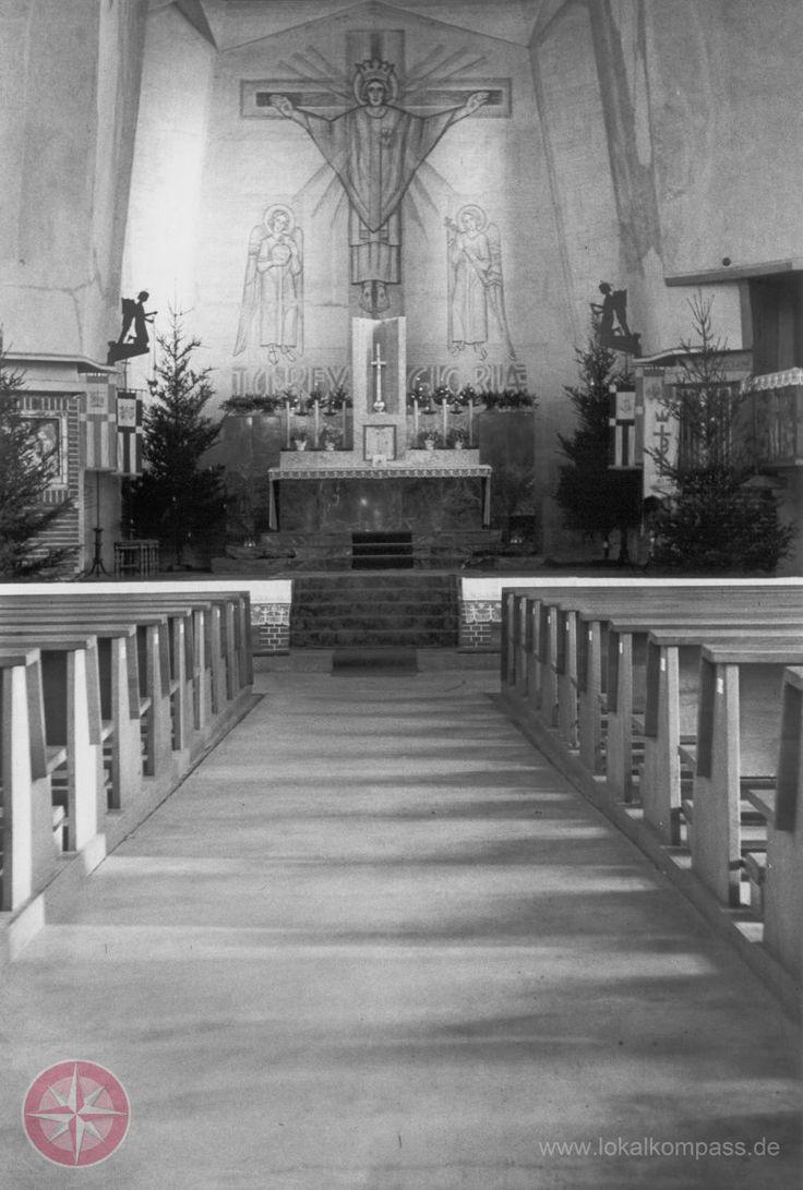 Vor 90 Jahren fand die erste Messe in der Frillendorfer Schutzengel-Kirche statt - Essen-Nord