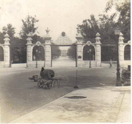 rio de janeiro, Pórtico principal de acesso ao Palácio São Cristóvão (atual…