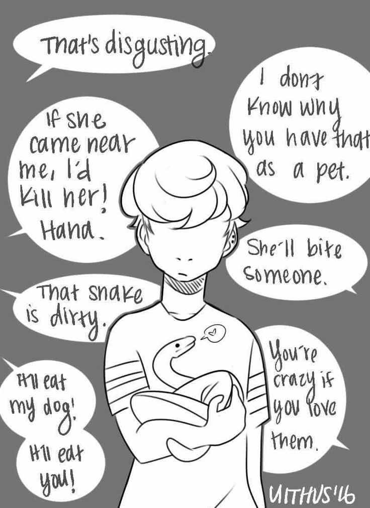 This is how I feel when I tell people they like snakes. They are so cute though!! Raise them right and their harmless