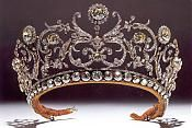 Boucheron Daisy and Leaf tiara, made for Georgian Princess Abamalek Lazarev, who left it to her nephew, Prince Paul of Yugoslavia. Royal Forums.