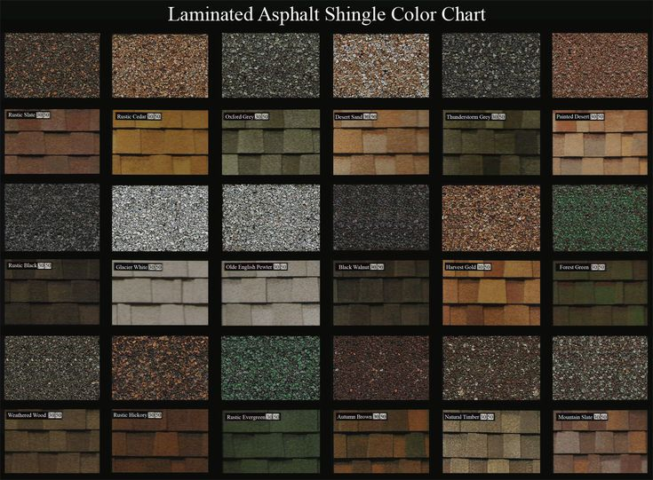 Roof Shingle Colors Wide Spectrum Color Selection For