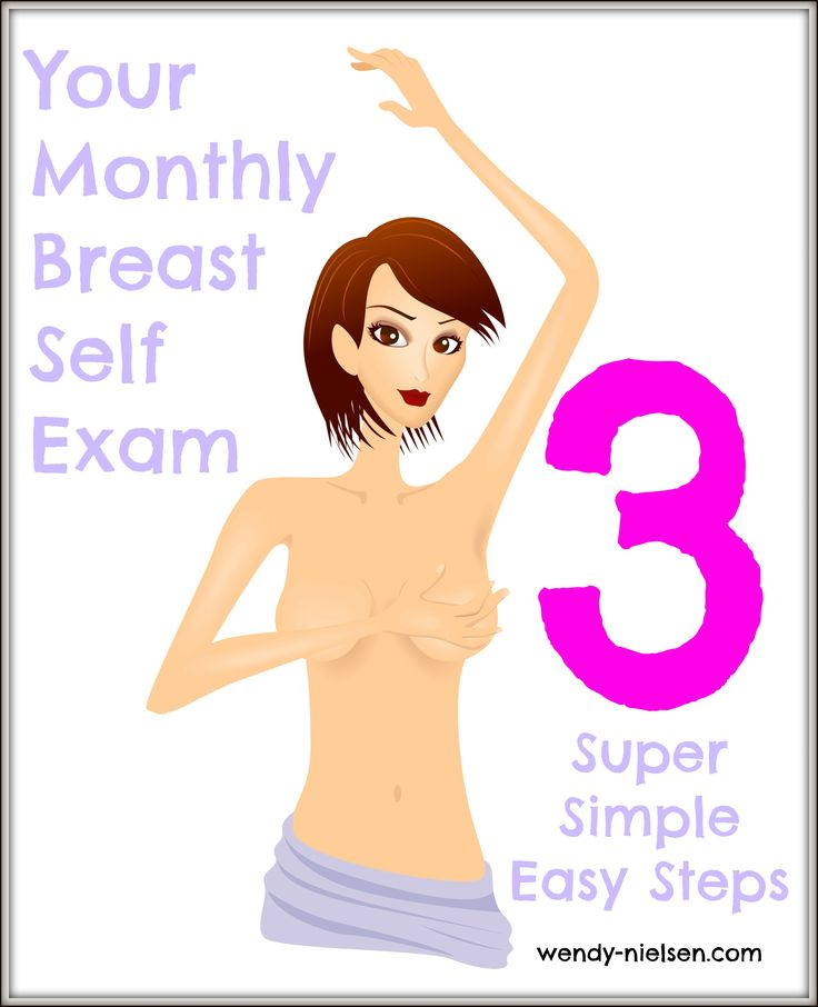 Three Super Simple Easy Steps to Your Monthly Breast Self Exam