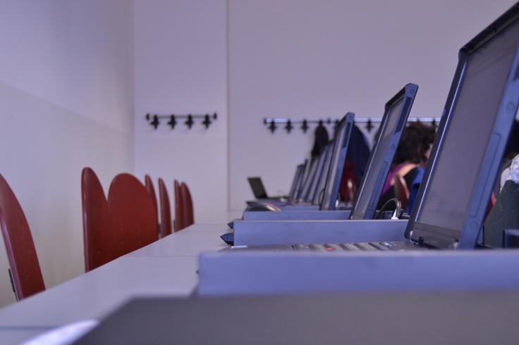 Computer room at IULM (Milano)