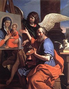 Luke- patron saint of artists, physicians, surgeons, students, was the author of the Gospel of Luke and the Acts of the Apostles.
