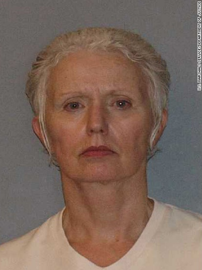 """Catherine Greig, longtime partner of accused mob boss and fugitive James """"Whitey"""" Bulger, is being sentenced Tuesday, June 12, in Boston."""