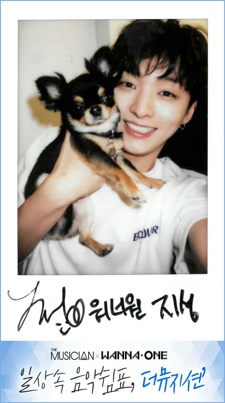 Wanna One x The Musician Polaroids - Yoon Jisung
