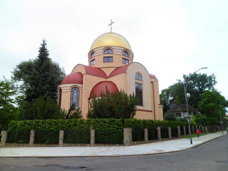 Ukrainian Orthodox Church in Szczecin,Poland