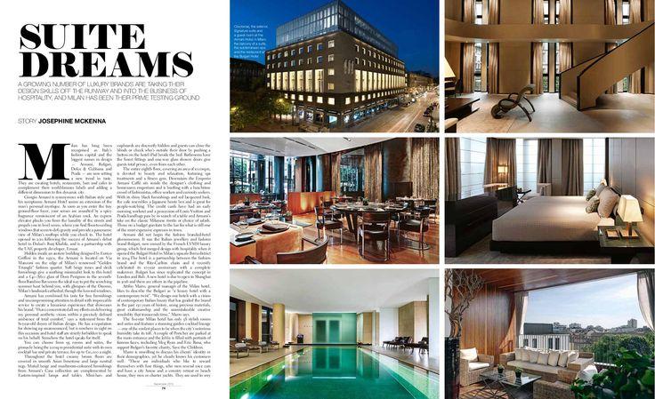 Suite Dreams. Full article http://josephinemckenna.net/portfolio/suite-dreams-in-milan/