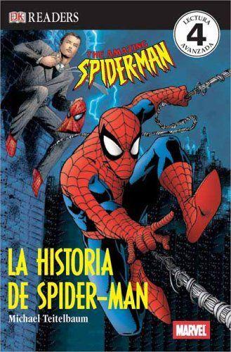 La Historia de Spider-Man (DK Readers) (Spanish Edition) @ niftywarehouse.com #NiftyWarehouse #Spiderman #Marvel #ComicBooks #TheAvengers #Avengers #Comics