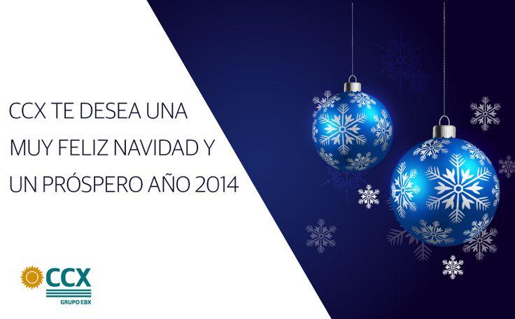 Tarjeta de Navidad. Empresa CCX