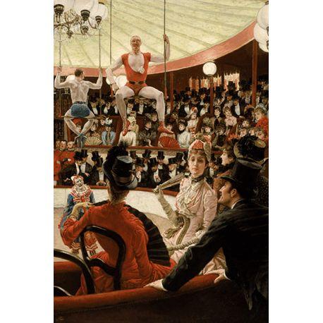 Reprodukcje obrazów James Tissot The Circus Lover - Fedkolor