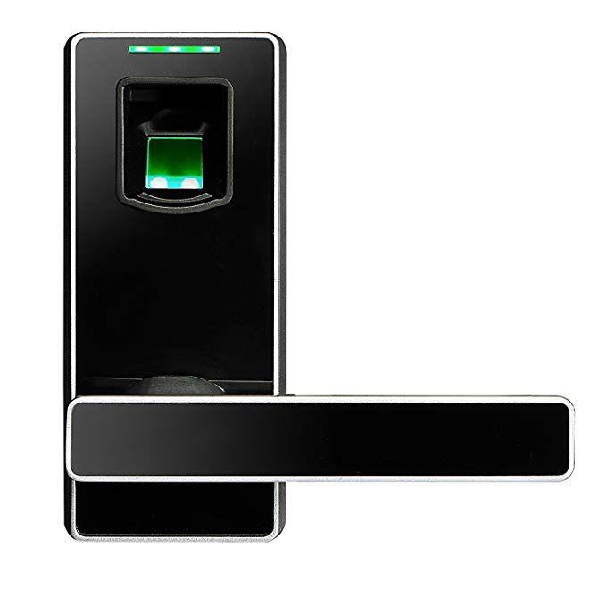 Zkteco Electronic Biometric Fingerprint Keyless Door Lock Digital Security Smart Lever Door Locks F Fingerprint Door Lock Biometric Door Lock Keyless Door Lock