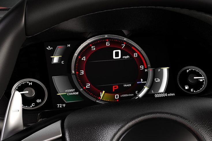 [画像]デトロイトモーターショーで世界初公開された新型「NSX」 / V6ツインターボ+9速DCT+1モーターで後輪を、2モーターで左右前輪を独立駆動する4WDシステム - Car Watch