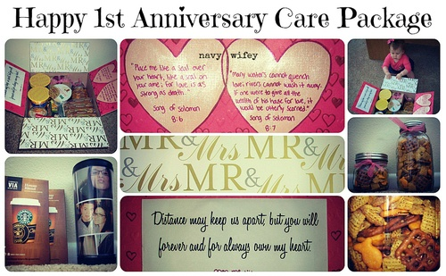 22 Year Wedding Anniversary Gift: 17 Best Images About Anniversary Care Package On Pinterest