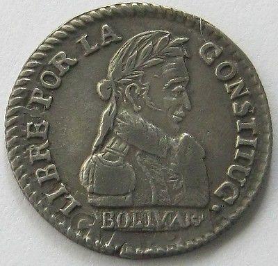 БОЛИВИЯ, Серебряная монета 1/2 SOL 1830 JL, топ, высокого класса! in Монеты и банкноты, Монеты: страны мира, Южная Америка | eBay