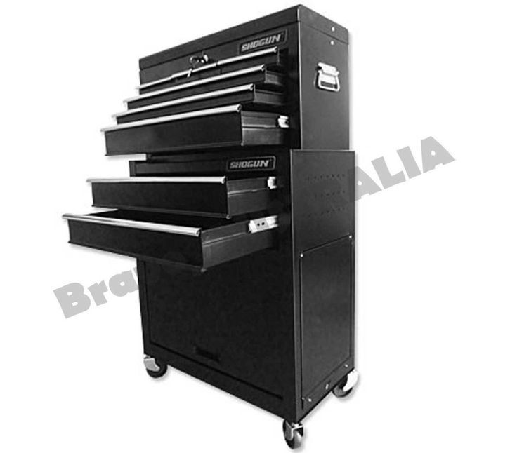 8 Drawer Tool Box Chest Cabinet Castor Trolley Toolbox Storage Home Mechanic
