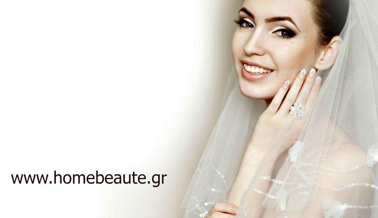 Ένα όμορφος #γάμος αρχίζει από ένα εντυπωσιακό #μακιγιάζ! www.homebeaute.gr