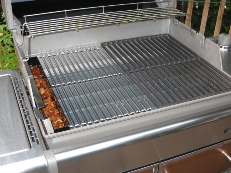 weber gas grill smoker box - Weber Gas Grill