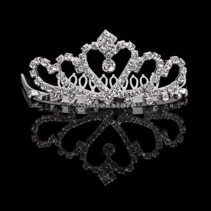 nieuwe 2014 laatste zomer damesmode bloem meisjes bruids kristal tiara strass kroon w/kam pin voor huwelijksfeest in    beschrijving:gelegenheid: bruiloft, opdrachten, prom, elke gelegenheid die u wilt om meer charmantm van Haar sieraden op AliExpress.com   Alibaba Groep