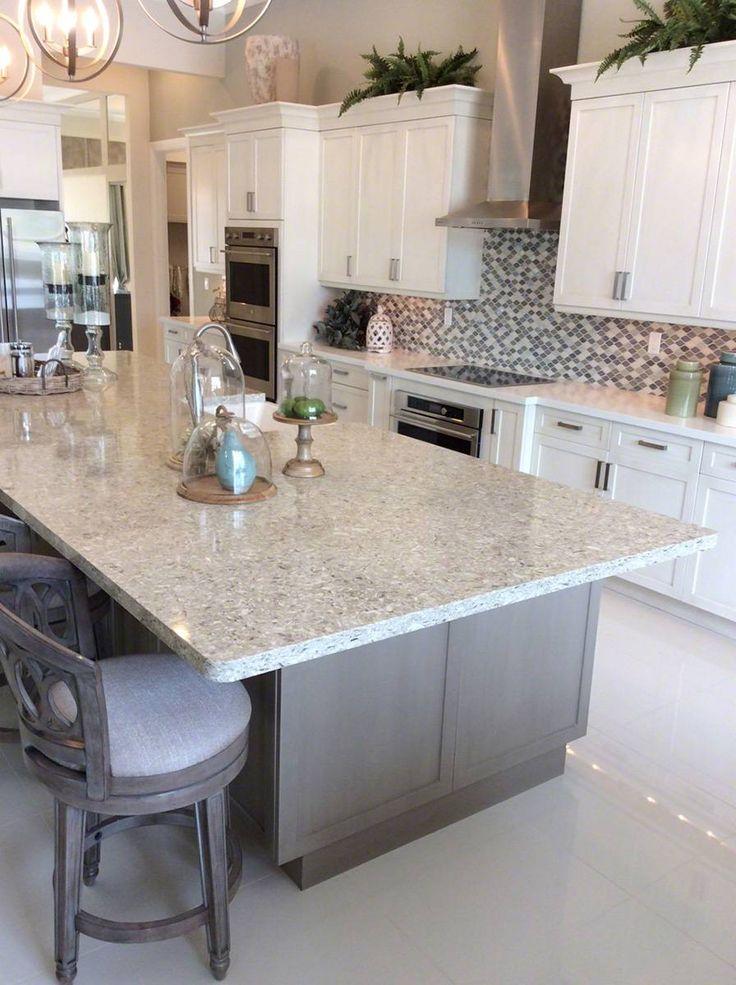 CHAKRA BEIGE™ QUARTZ | Quartz countertops, Beige kitchen ...