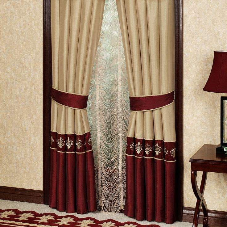 Simple Curtain Design For Living Room