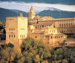 Alhambra Mosque, Granada, Spain