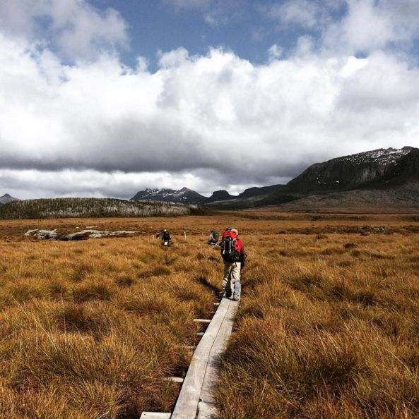 Do a six-day trek up Cradle Mountain, staying in private huts along the way.