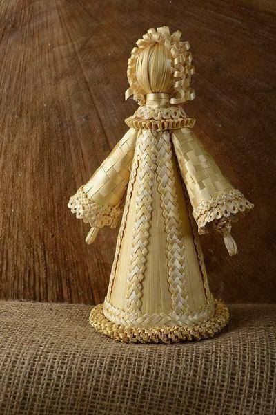 """Deko-Objekte - Puppe aus Stroh """"Fräulein"""" - ein Designerstück von EthnischeGeschenke bei DaWanda"""
