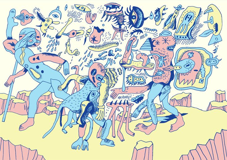 Odd Stuff - LEO PARK ILLUSTRATION