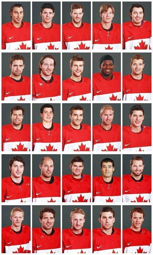 Team Canada. Sotchi 2014