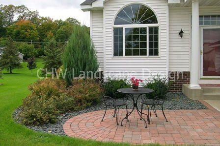 front patio idea garden and landscape ideas pinterest