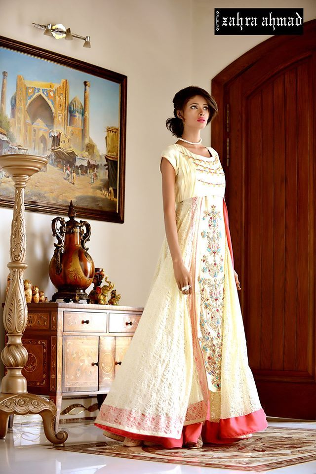 Latest Party Wear Frocks & Gowns Collection 2016-2017 | StylesGap.com