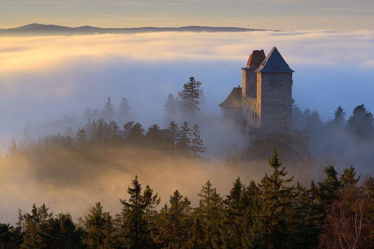 Kašperk castle, Šumava mountains by Pavel Ouředník on 500px
