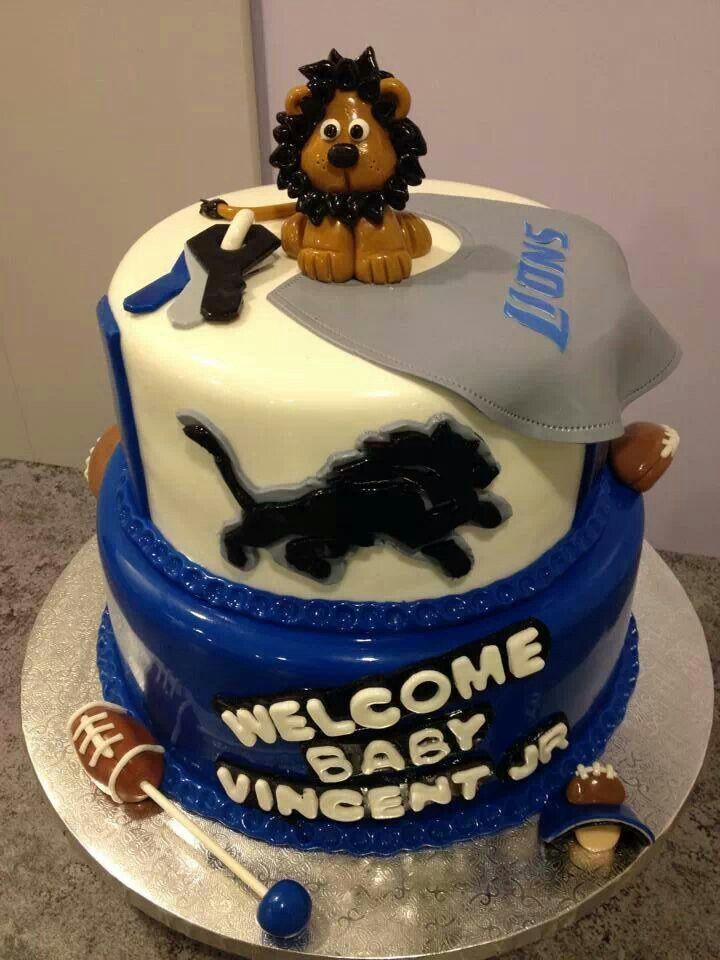 Jerseys NFL Online - 1000+ ideas about Detroit Lions Cake on Pinterest | Lion Cakes ...