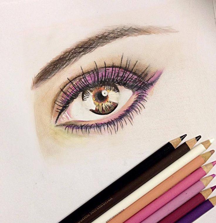 Jenifer Lee - Art Eye drawing with Polychromos