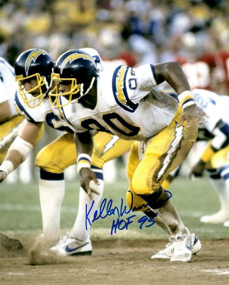Autographed Kellen Winslow HOF San Diego Chargers 8x10 Photo
