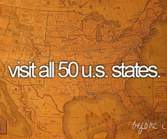 I want to visit all of the states