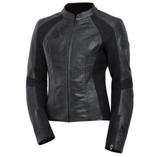 BILT - Women's Grace Leather Motorcycle Jacket - Leather - Street - Jackets - Women's - Cycle Gear