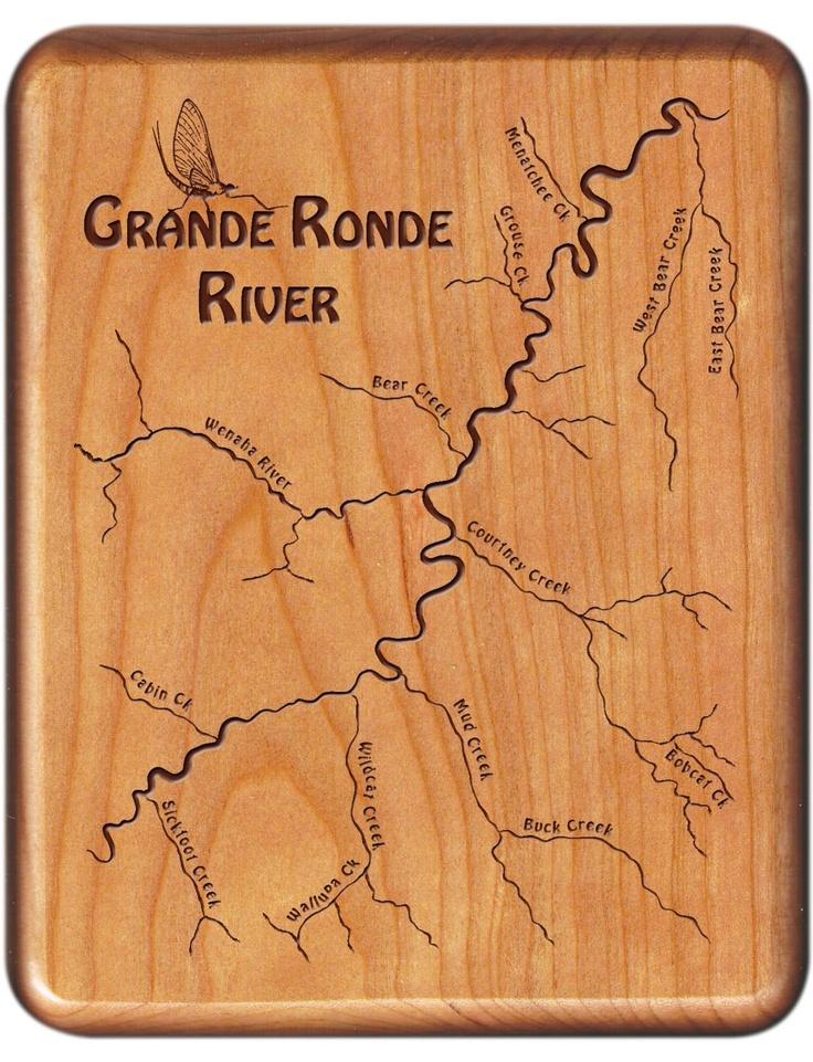Custom Designed Laser Engraved River