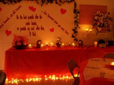 valentine's day banquet ideas