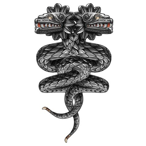 T-Shirts, Quetzalcoatl ( flying snake. Badass Tattoos, Body Art Tattoos, Sleeve Tattoos, Symbol Tattoos, Aztec Tattoo Designs, Free Tattoo Designs, Mayan Tattoos, Viking Tattoos, Polynesian Tattoos