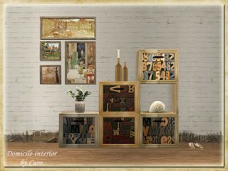 Domicile-interior: cube cabinets 2