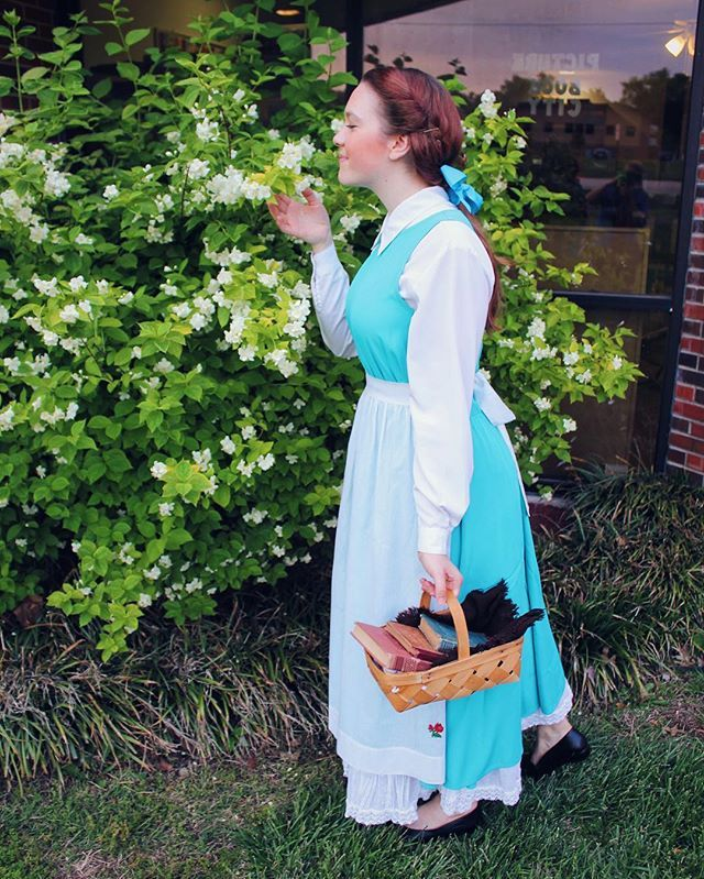 Pin for Later: 21 Literary Costumes For Hardcore Book-Lovers Belle Known for her love of books, Belle is the perfect combination of nostalgia and literary love.