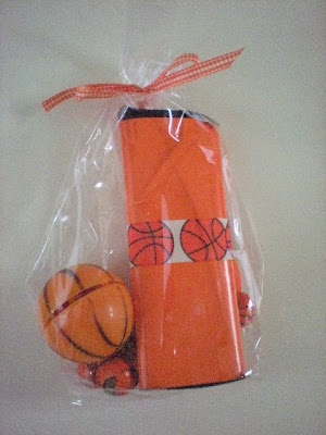 Basketball Party Favor - perfect for the team or March Madness party.