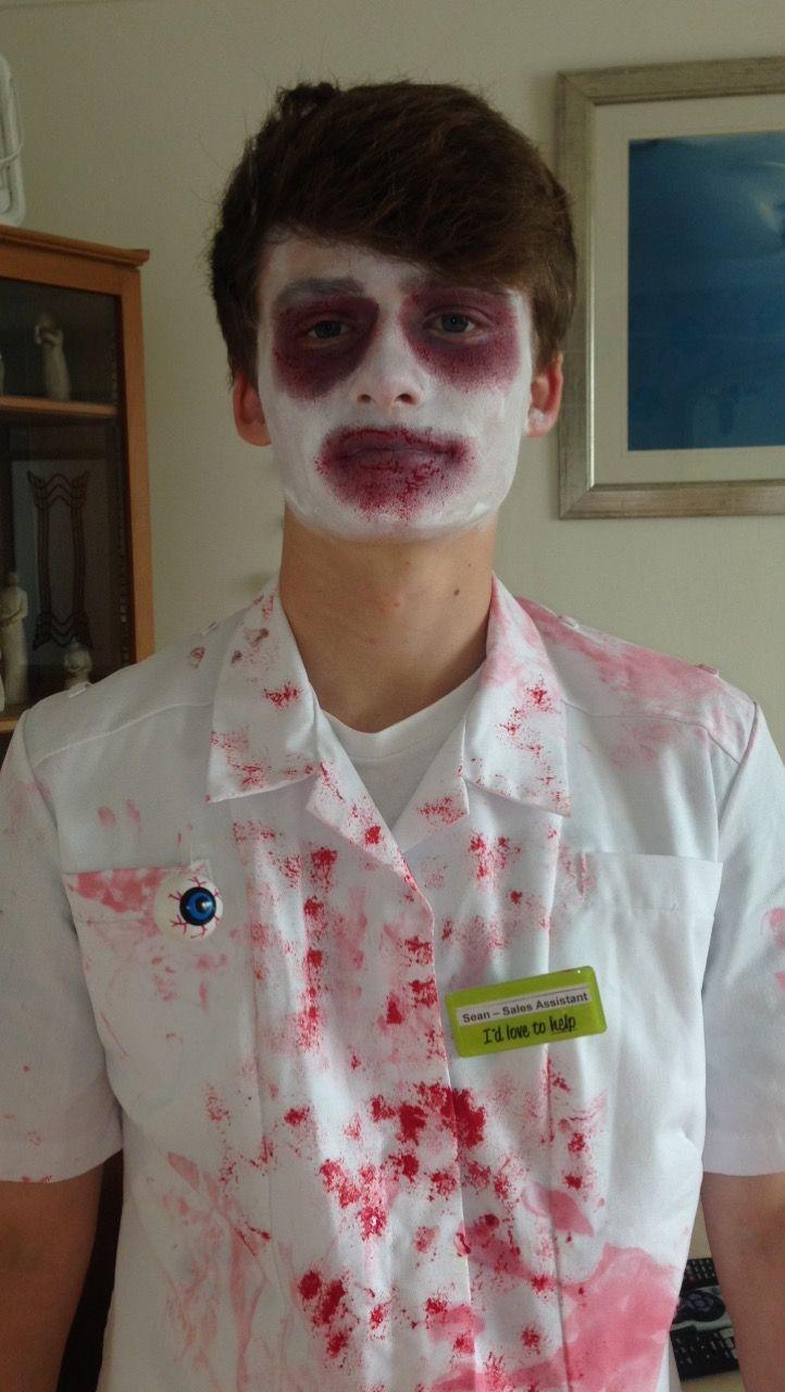 Killer Dentist💉 #mua #halloween