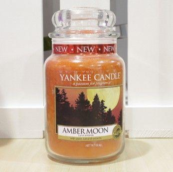 """Amber Moon"" Yankee Candle UK release Fall 2014"