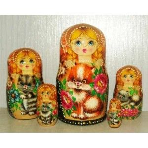 VALYA #russiandolls #diy #babushka #matroyshka #handmade #unique #animals #wildlife