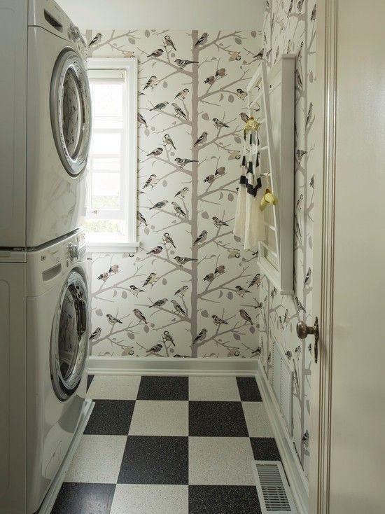 laundry room retro wallpaper - photo #10