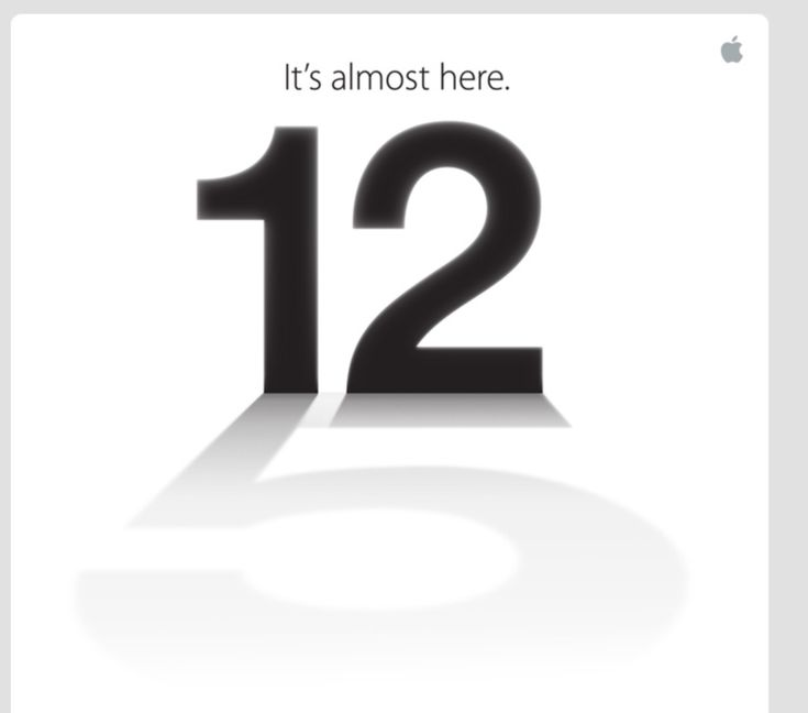 Apple announces September 12th iPhone event: 'It's almosthere'