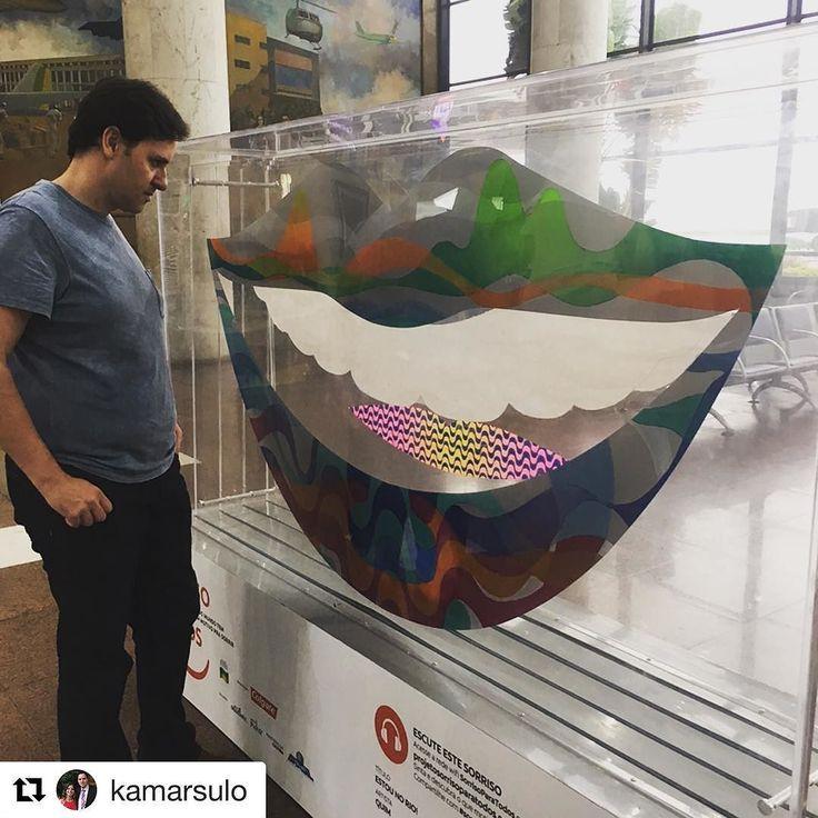 #Repost @kamarsulo  Ver o sorriso com o olhar do próprio artista @quimalcantara é muito demais!!! #sorrisoparatodos #quimconque #quimalcantara